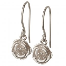 Kashka London Blossom Silver Earrings