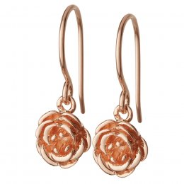 Kashka London Blossom Rose Gold Earrings