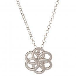 Kashka London Faith Sterling Silver Necklace