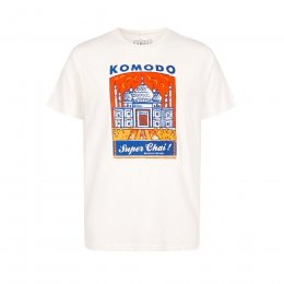 Komodo Mens Super Chai Tee - Off White