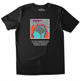All Riot Modern Propaganda Organic T-Shirt - Black