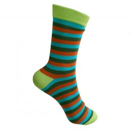 Green Stripe Socks - UK7-11