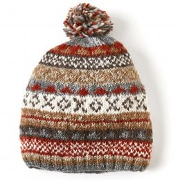 Finisterre Bobble Beanie - Grey