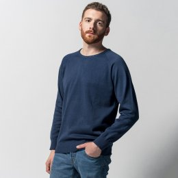 Melawear Fine Knit Jumper - Navy