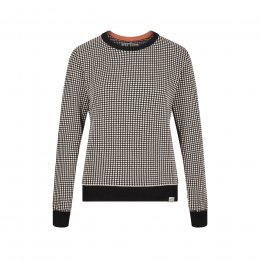 Komodo Hana Jumper - Black & Shell