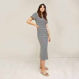 People Tree Darika Stripe Dress