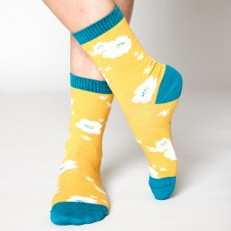 Nomads Sunflower Hibiscus Socks