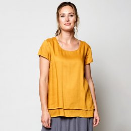 Nomads Sunflower Double Layer Top