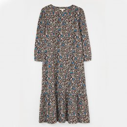 White Stuff Spring Atlantic Dress - Brown