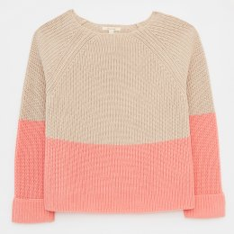 White Stuff Orla Ribbed Sweater - Natural