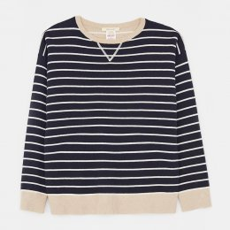 White Stuff Reversible Sweater - Navy
