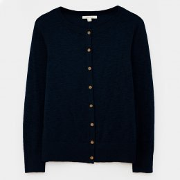 White Stuff Lola Crew Neck Cardi - Navy