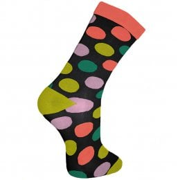 Fair Trade Polka Dot Bamboo Socks - UK3-7