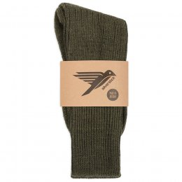 Alpine Wool Socks - Olive