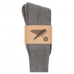 Alpine Wool Socks - Slate