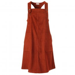 Nomads Saffron Cord Dungaree Dress